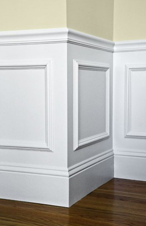 Dining room molding - Living Rich on LessLiving Rich on Less