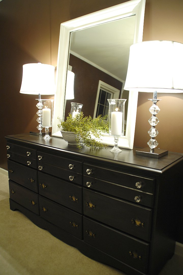 stenciled dresser drawersliving rich on less