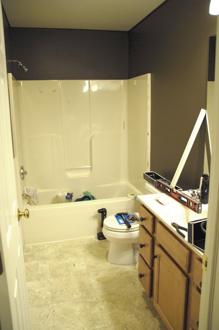 Coolest Bathroom Ever bathroom remodel - plus the coolest gift ever - living rich on
