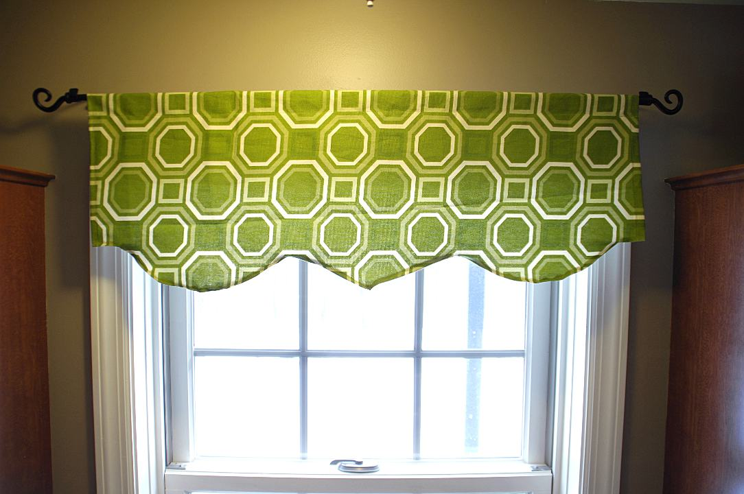 Easy Window Valance Living Rich On Less