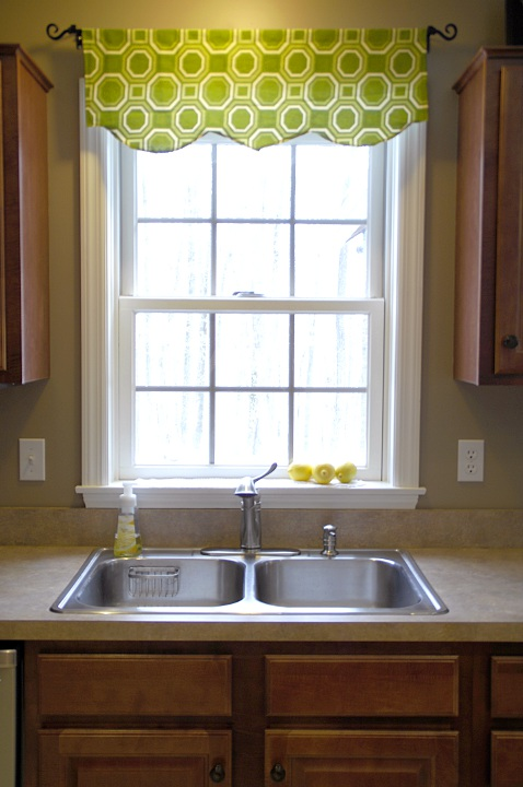 Simple Valances For Windows : Easy window valance living rich on lessliving less