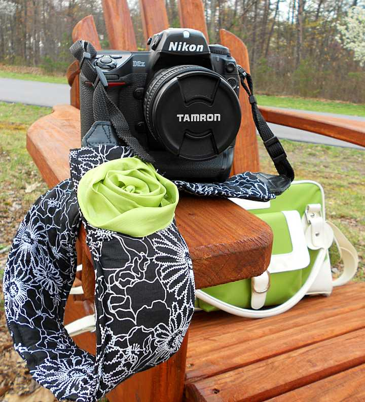 Living Rich On Lessliving Rich On Less: Create Your Own Camera Strap Cover