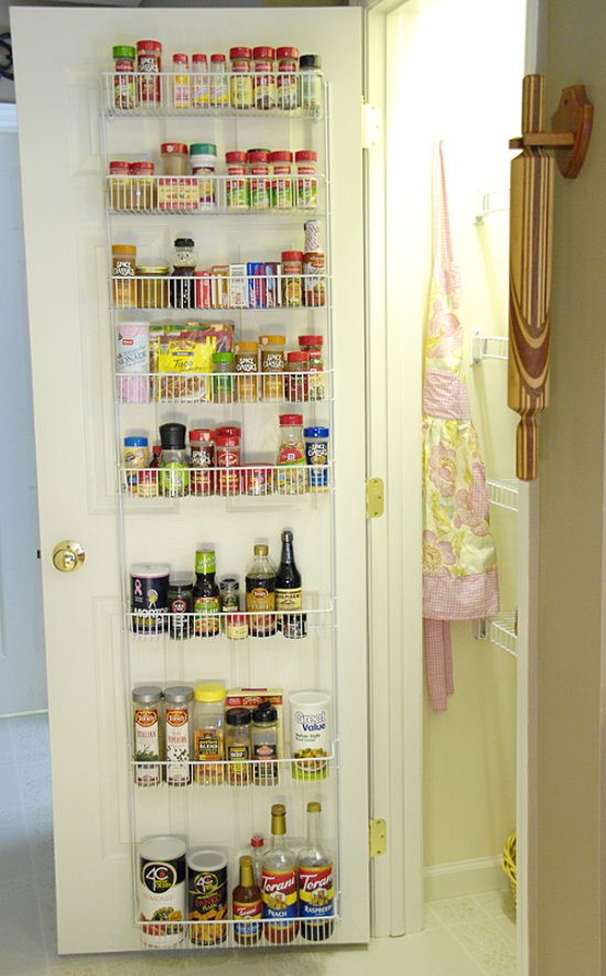 1000 images about cocinas on pinterest kitchen storage for Door organizer
