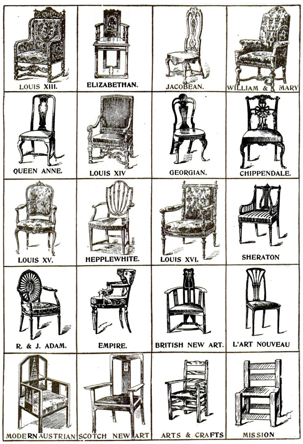 Vintage Chair Archives