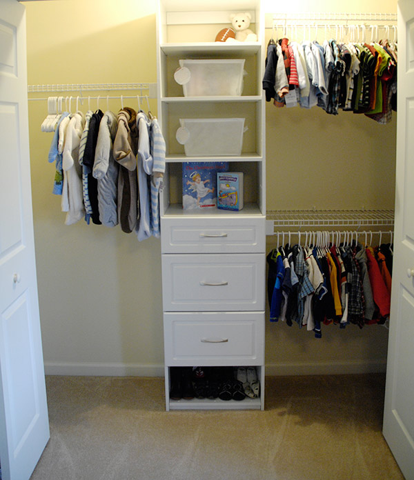 What Do You Think Of Our Thrifty Nursery Closet Makeover?