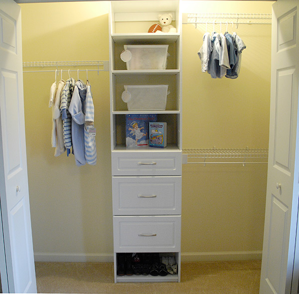 Living Rich On Lessliving Rich On Less: Nursery Closet Makeover