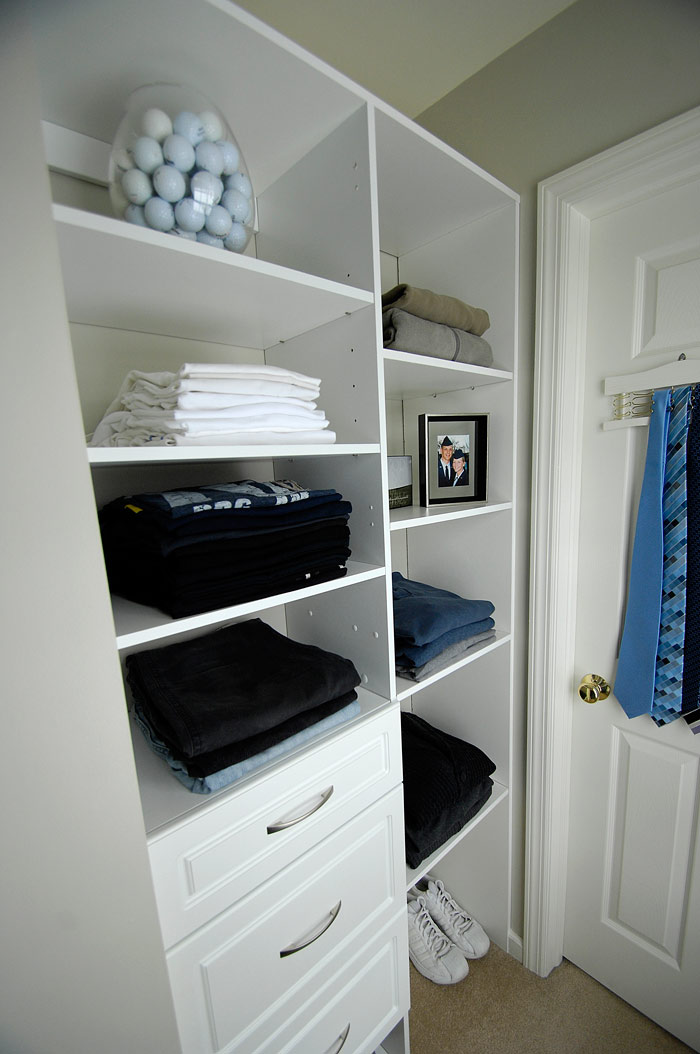 Master Closet Renovation Done Living Rich On Less