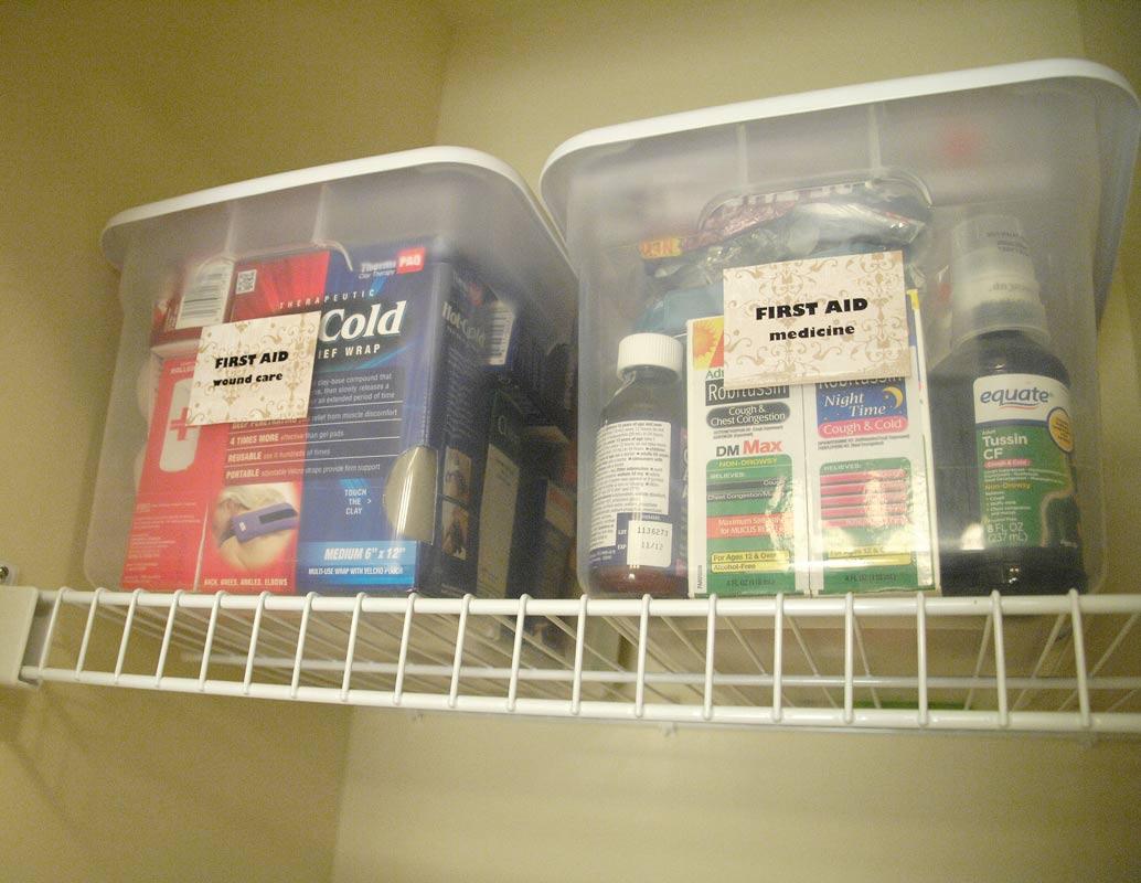 First-aid-storage