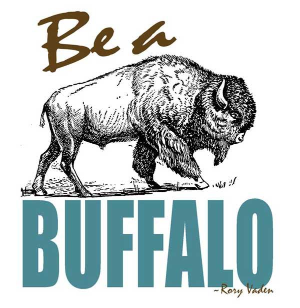Be-a-buffalo