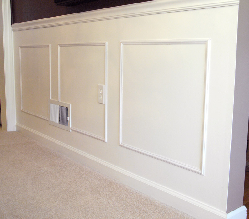 DIY Dining Room Molding 2