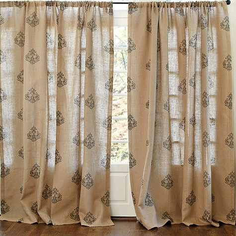 my thrifty curtain project that only looks good through burlap shower curtain with bullion fringe ballard designs