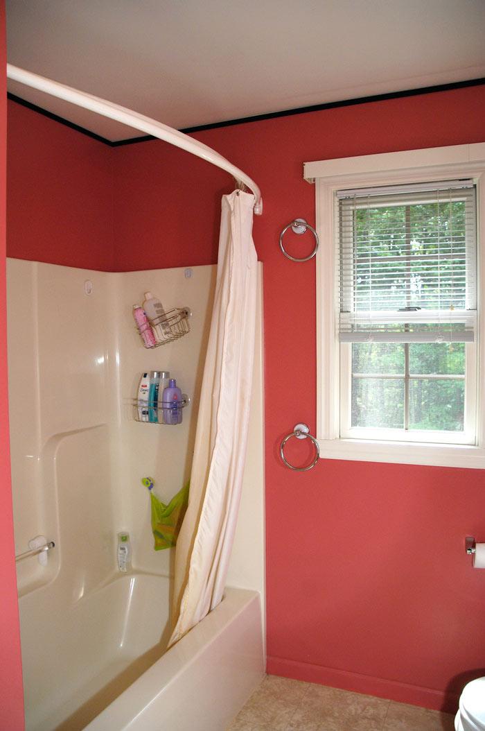 88 Bathroom Makeover Plus A Drool Worthy Diy Window Treatment Living Rich On Lessliving
