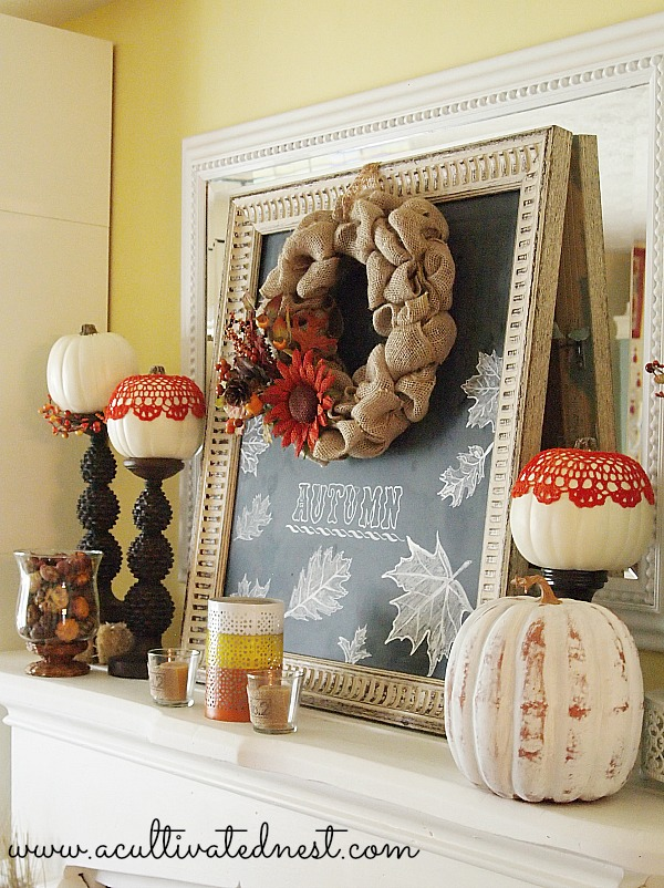 OLYMPUS DIGITAL CAMERA & Fall decorating ideas - Living Rich on LessLiving Rich on Less