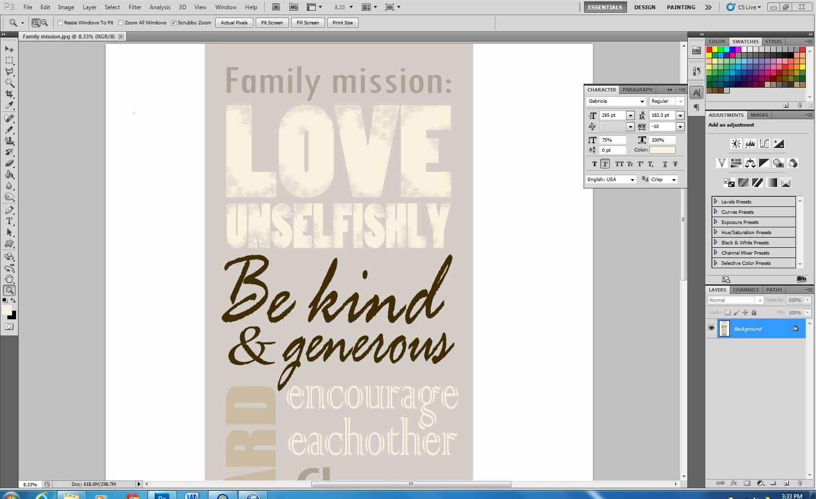 Creating-a-poster-in-Photoshop