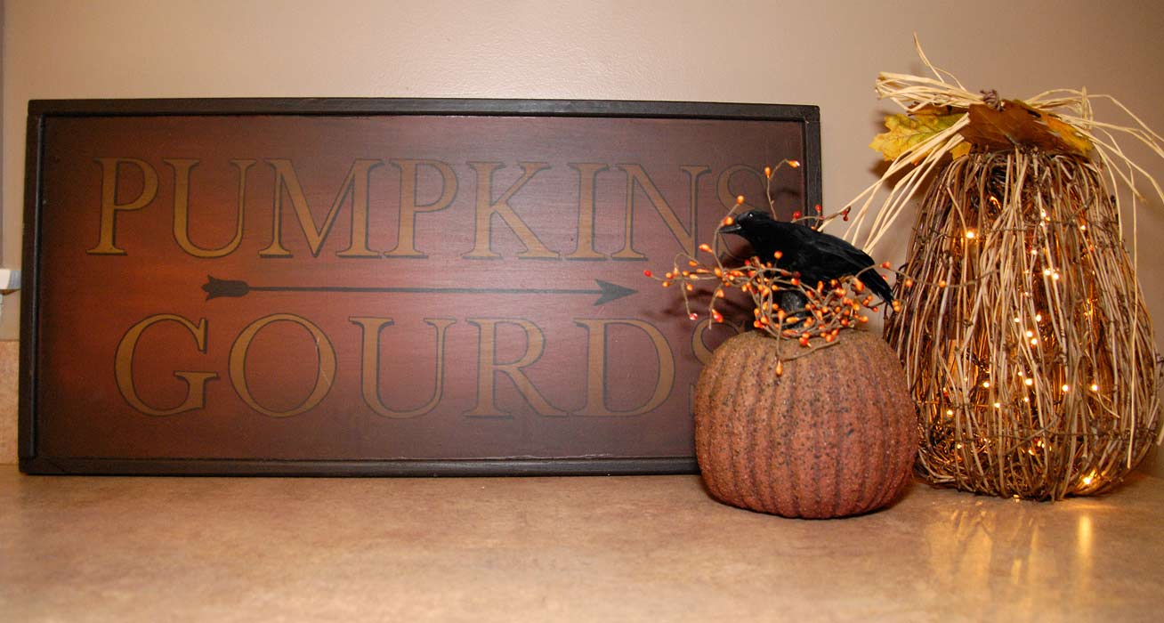 Fall Kitchen Decorating Fall Kitchen Decor Living Rich On Lessliving Rich On Less
