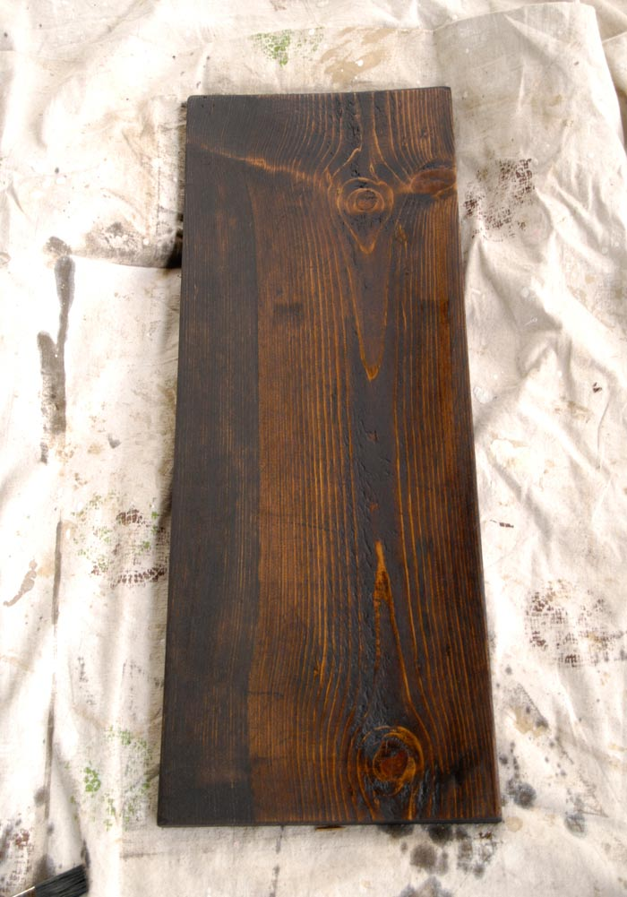 Stained-board