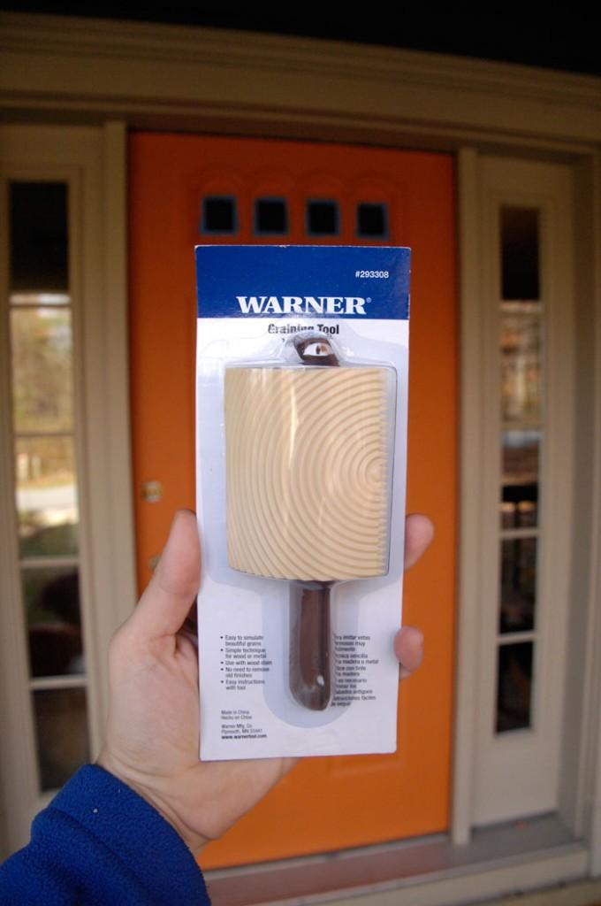 Warner-wood-graining-tool