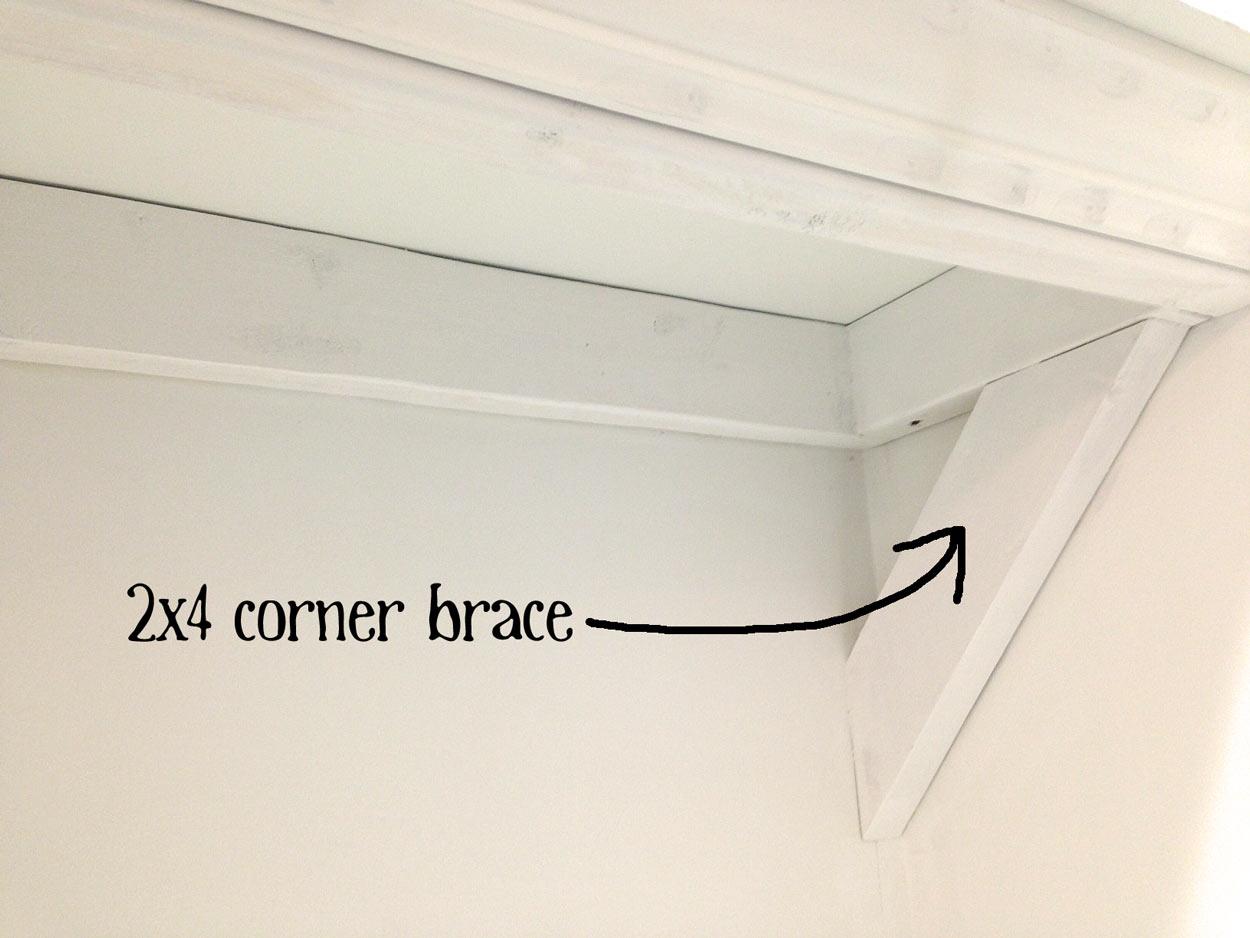 Corner-brace
