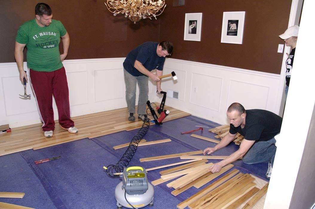 Family-hickory-flooring