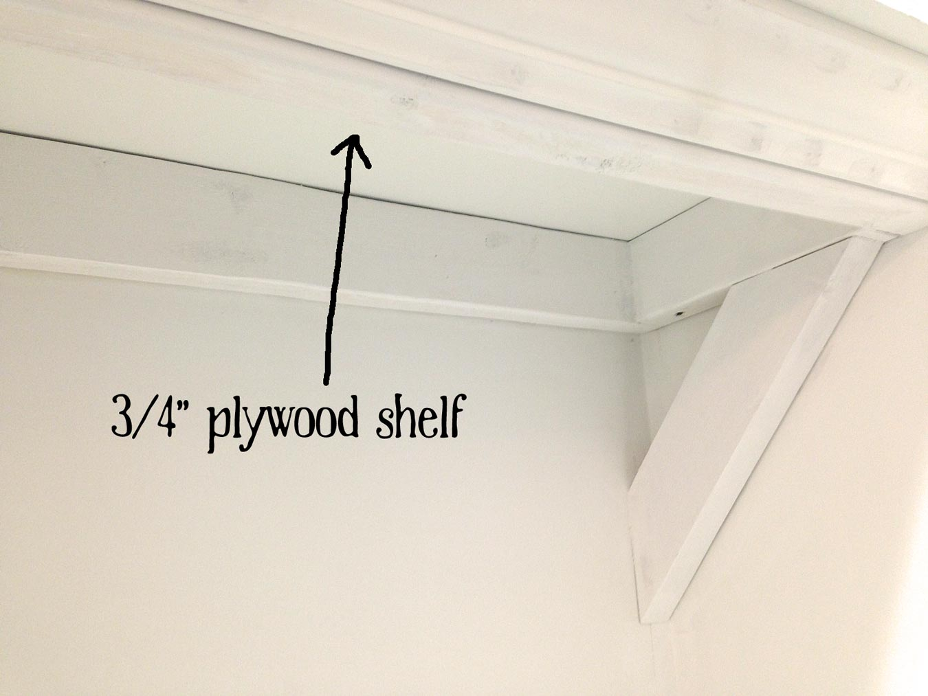 Plywood-shelf