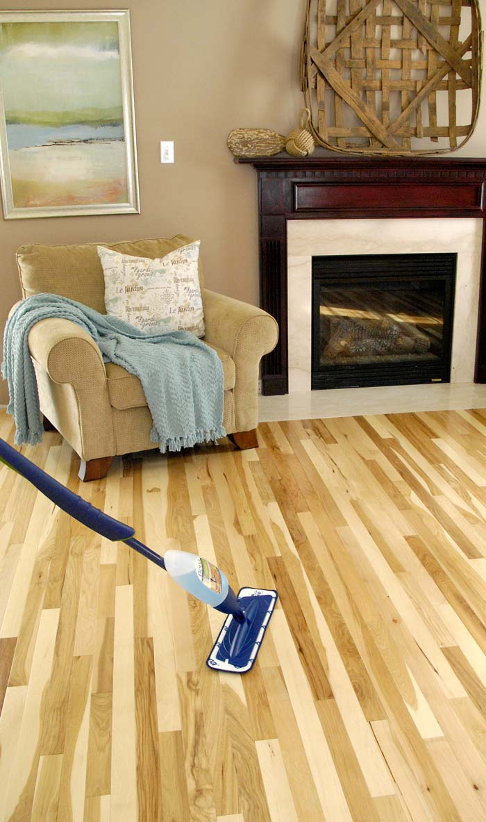 Hickory floor sneak peek plus hardwood cleaning tips for Hardwood floors hickory