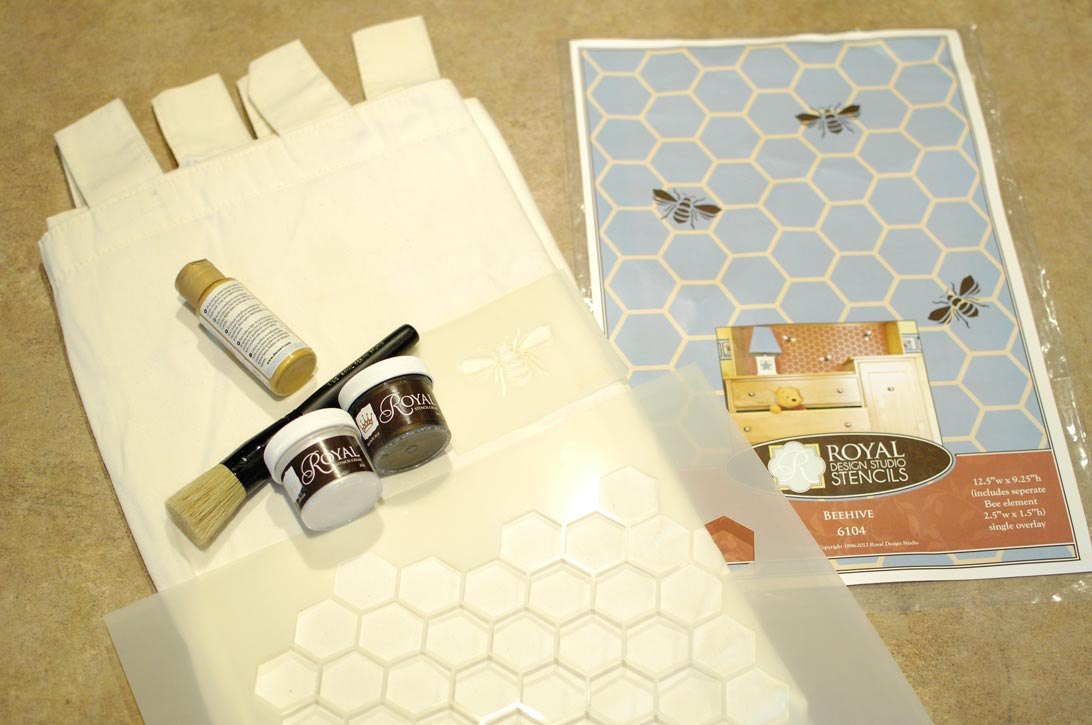 Bee-pillow-materials