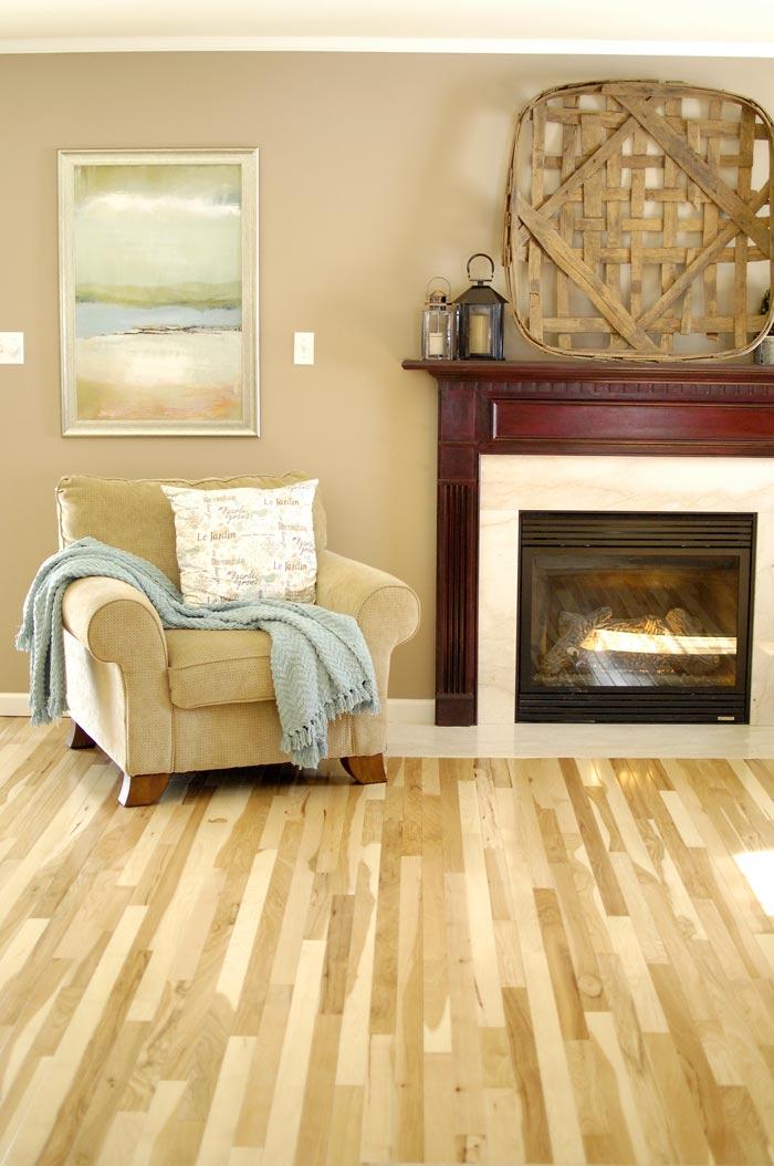 Hickory-floor