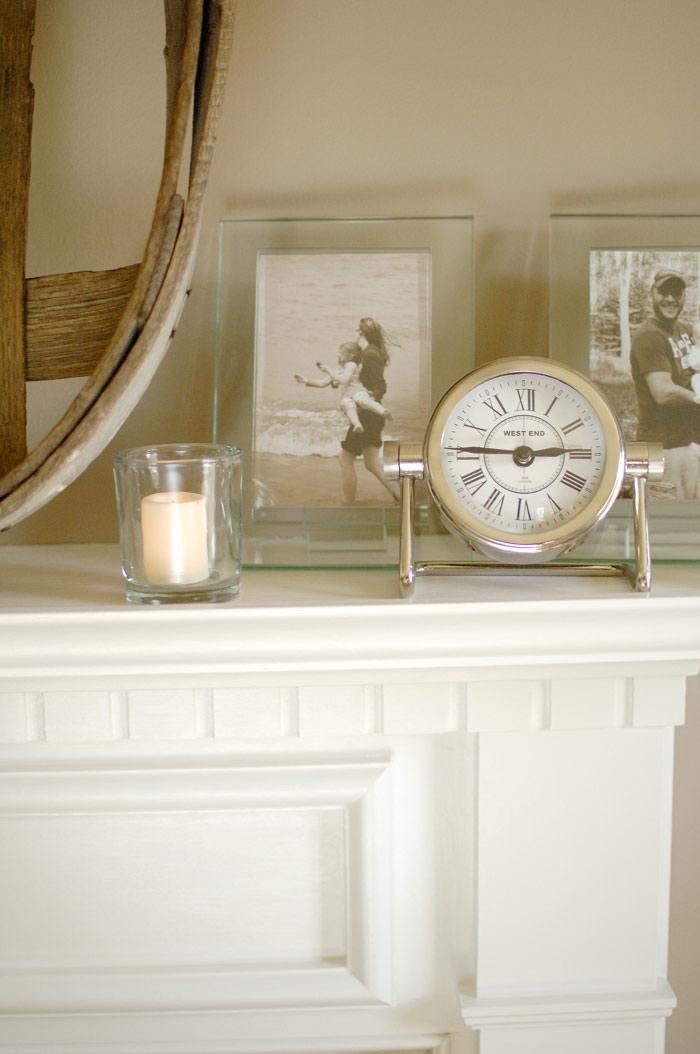 White-fireplace-mantel-closeup