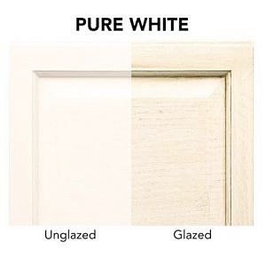 Pure-white-glazed