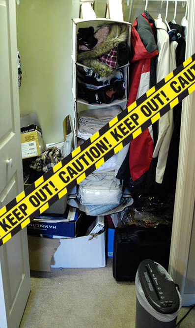 Messy-closet-with-caution-tape