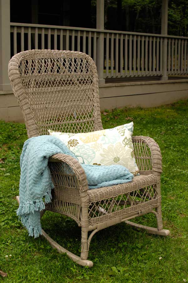 Wicker-chair-refinished