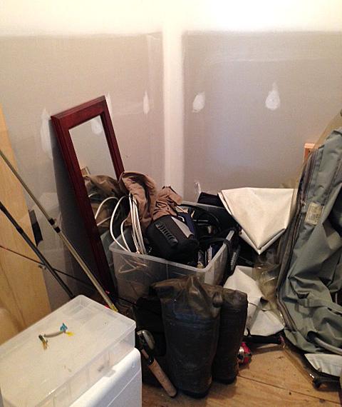 Garage-closet