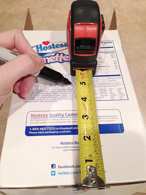 Measuring-box