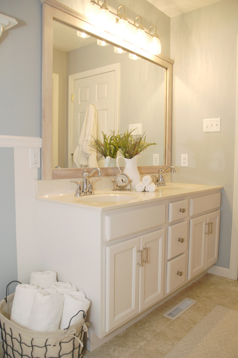 Bathroom Cabinet Transformation Living Rich On Less