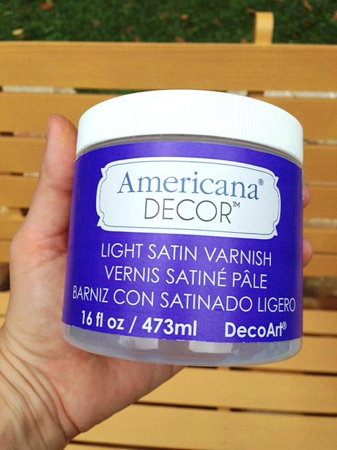Americana-varnish