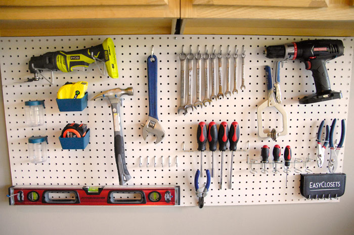 Video: How to install a pegboard tool organizer - Living ...