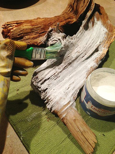 Liming-wax-driftwood-finish