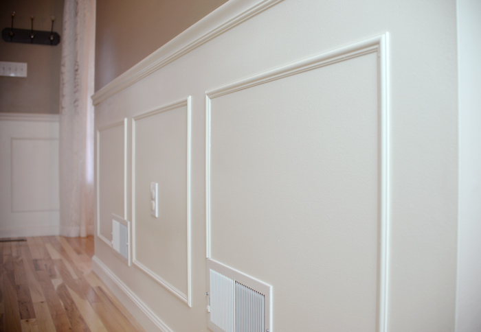 The Hallway Molding Big Finish Living Rich On Less
