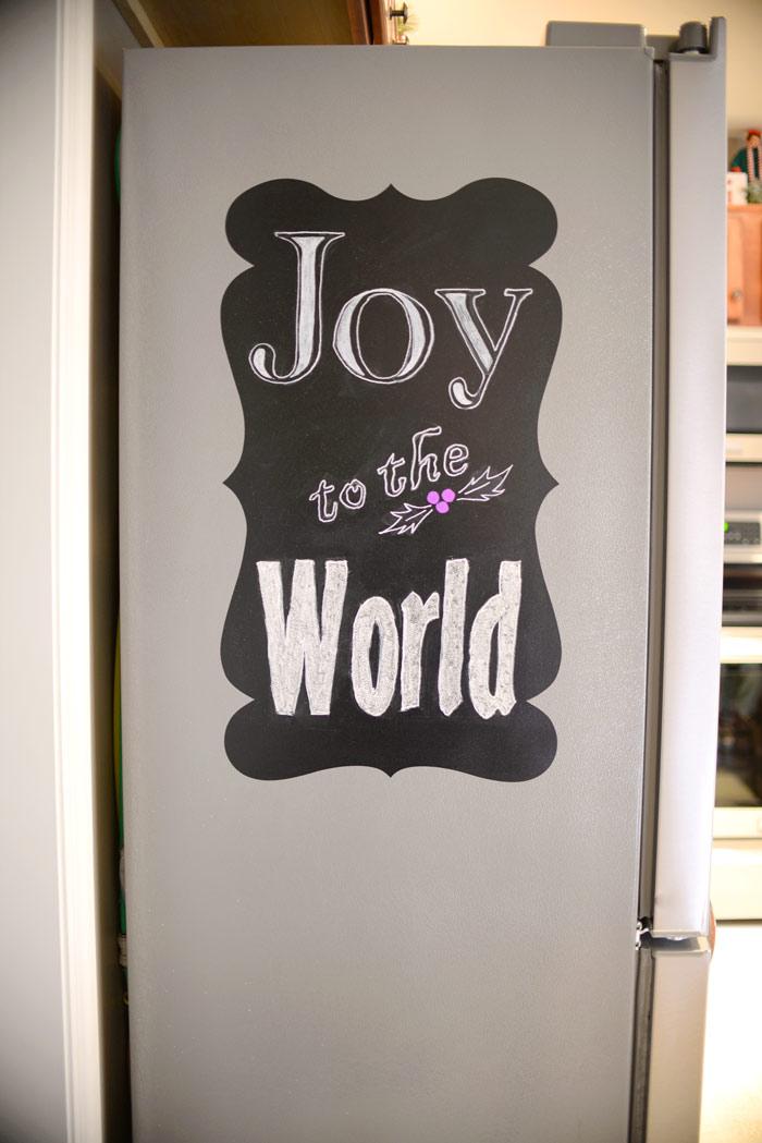 Easy-holiday-chalk-art