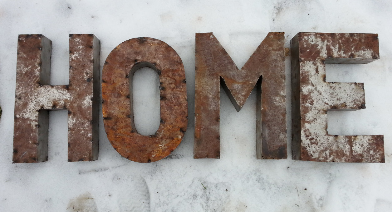Rustic Metal Letters Pottery Barn Knockoff Noel Sign  Living Rich On Lessliving Rich