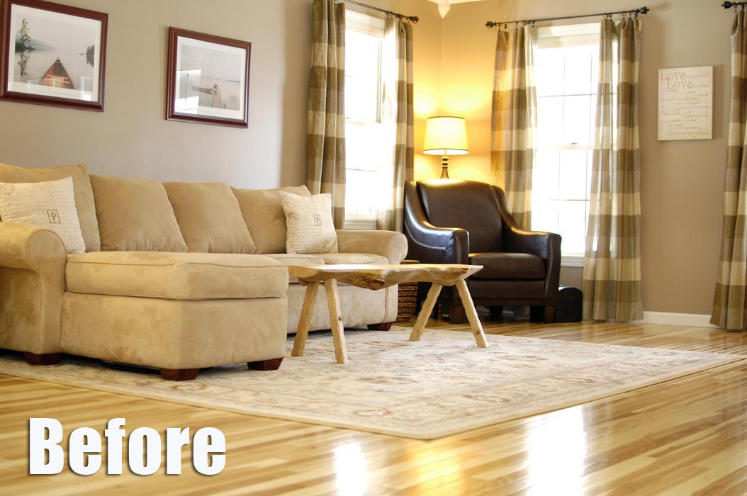 BEFORE-of-lighting-Hickory-floor-living-room-cu