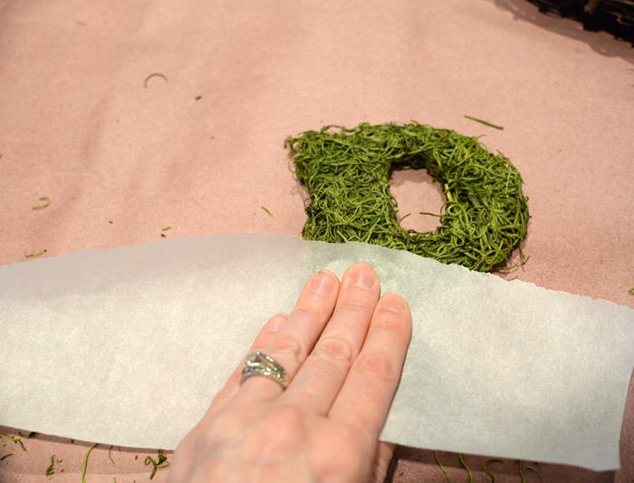 Parchment-paper-trick