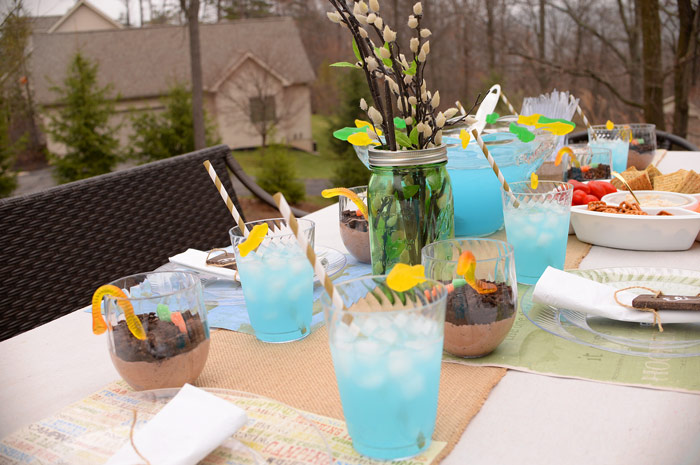 Backyard fish fry party ideas with Chinet® Cut Crystal® plus a ...
