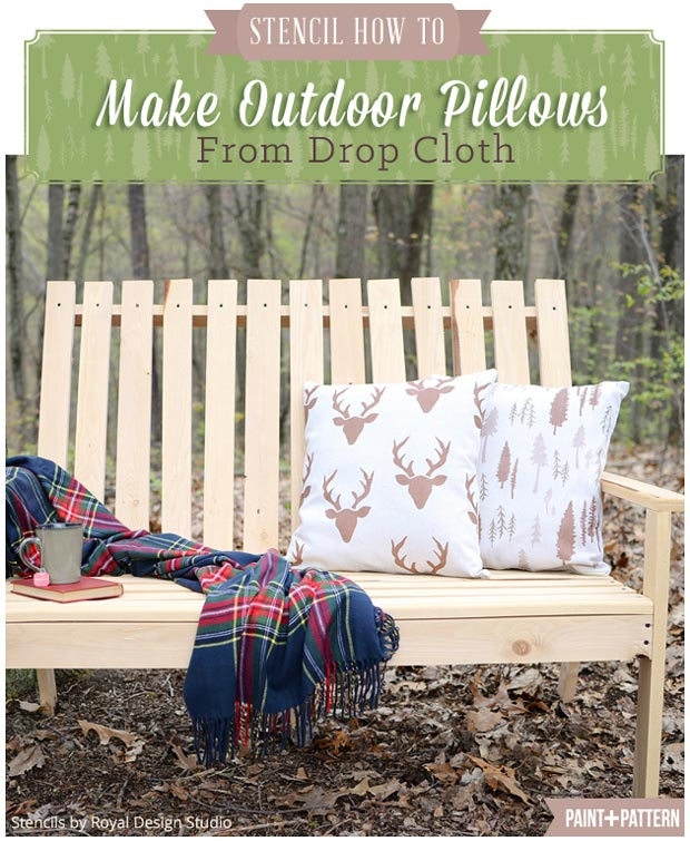 Stencil-How-To-pillows