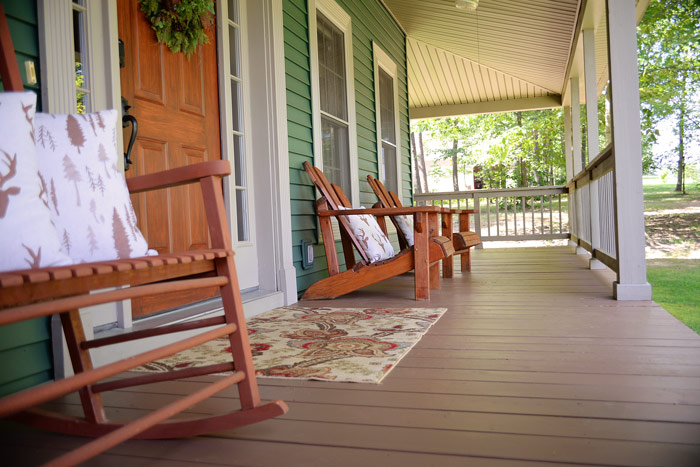 Chestnut-stained-porch-floor