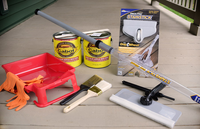 Deck-staining-tools