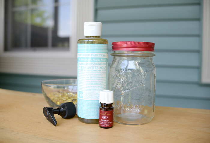 Diy Hand Soap And Jar Dispenser Plus Ball 174 Giveaway