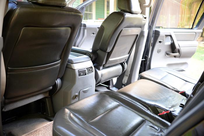 Clean-Nissan-Armada-interior