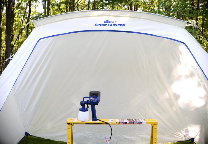 HomeRight-Spray-Shelter