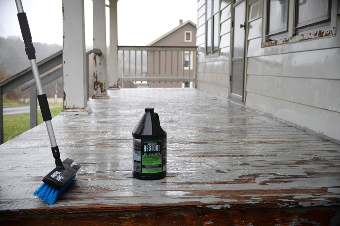 Rust-Oleum-Restore-Cleaner-on-porch